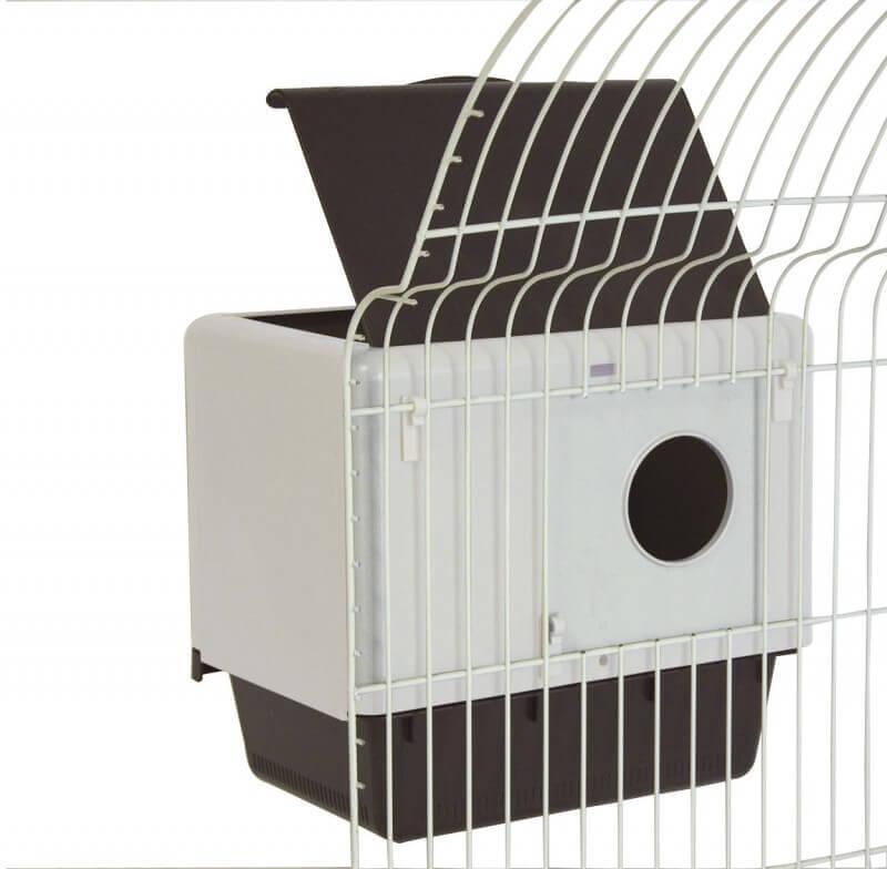 abri pour perroquets mirto 2c pour cages accessoires. Black Bedroom Furniture Sets. Home Design Ideas