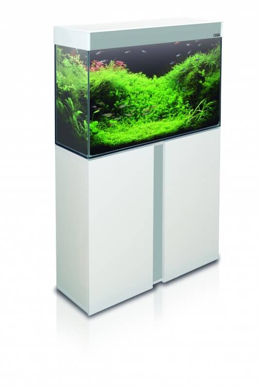 meuble blanc pour aquarium emotions nature 80 aquarium et meuble. Black Bedroom Furniture Sets. Home Design Ideas