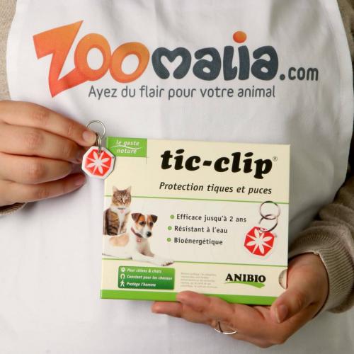 Médaille TIC-CLIP - Protection longue durée anti puces et tiques_0