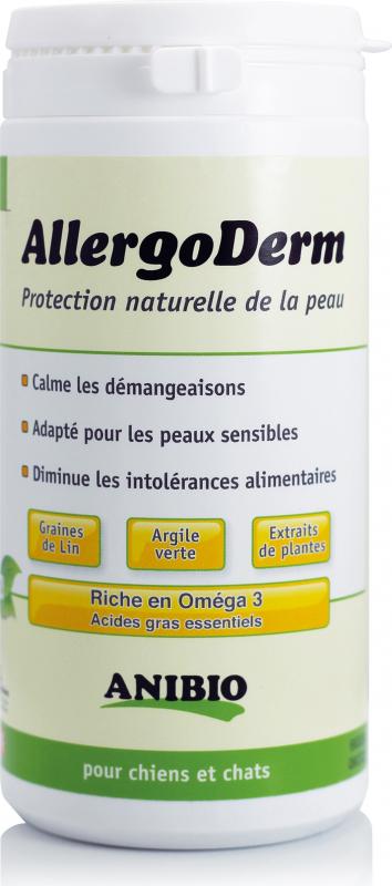 AllergoDerm - Protection naturelle de la peau - en poudre - contre les allergies et intolérances alimentaires