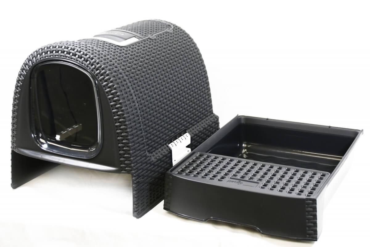 Rattan Cat Litter Box