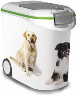conteneur croquettes pour chiens 4 12 et 20kg gobelets doseurs et conteneurs croquettes. Black Bedroom Furniture Sets. Home Design Ideas