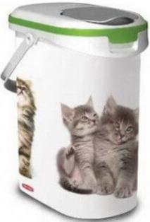 Conteneur à croquettes pour chats - 4 et 12kg