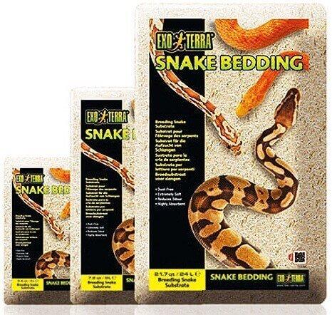 Litière Snake Bedding - Substrat naturel biodégradable pour reptiles_0