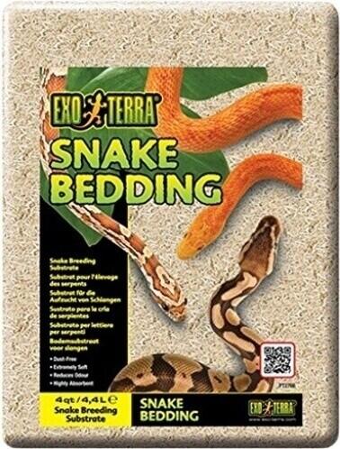 Litière Snake Bedding - Substrat naturel biodégradable pour reptiles