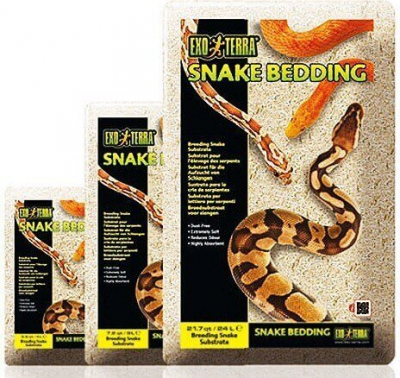 Lecho Snake Bedding - Sustrato natural biodegradable para reptiles