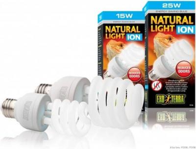 Fluo compact Natural Light ION - Élimine les odeurs et aide à rafraîchir