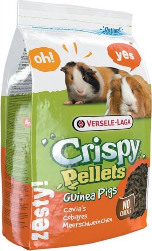 Versele Laga Crispy Pellets Guinea Pigs Granulés complets tout en un pour cobayes