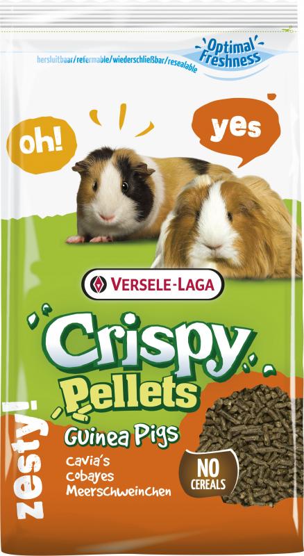 Versele Laga Crispy Pellets Guinea Pigs Granulés complets