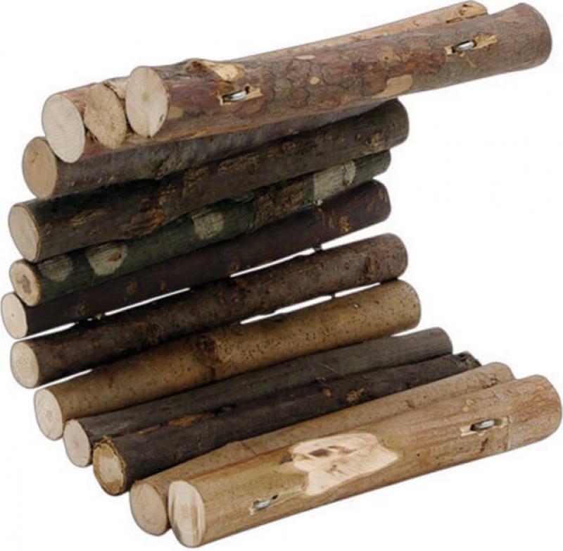 Pont pour rongeurs en bois flexible