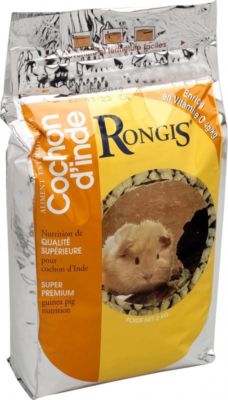 RONGIS Cochon d'Inde 2 kg - Aliment pour cochon d'Inde