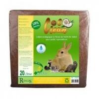 Lecho para pequeños mamíferos COCO CLEAN 20 litros - lecho para roedores