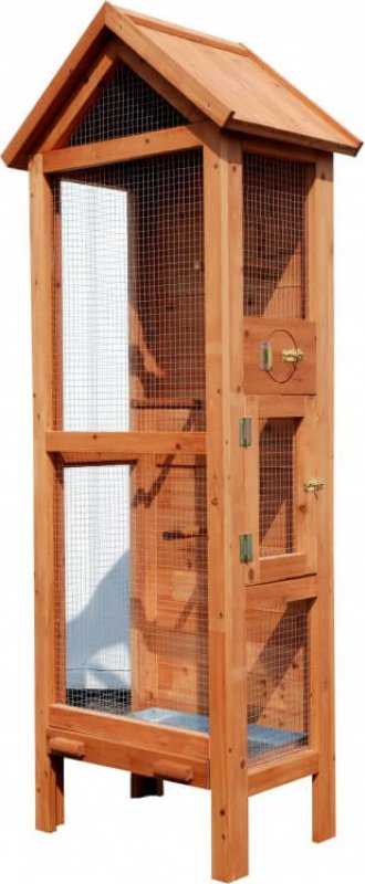 Wooden Outdoor Aviary