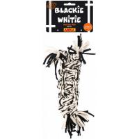 geflochtene Zopf 'BLACKIE WHITIE' - GM