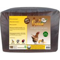 Litière fibre de coco Agglomérante pour poules, rongeurs et reptiles