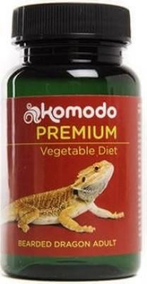 Komodo Premium für erwachsene Bartagame 75g - vegetarisches Futter