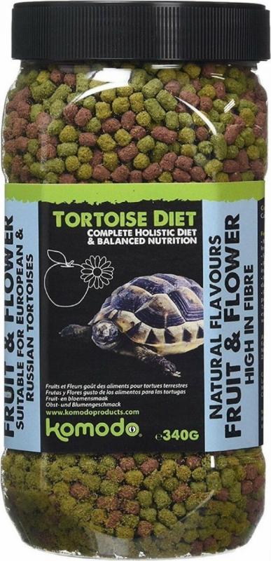 Komodo Cibo Olistico per tartarughe di terra - Al gusto di frutta e fiori