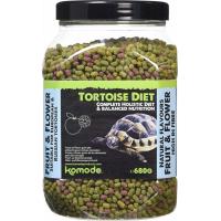 Komodo Alimentation holistique pour tortues terrestres - Goût fruits et fleurs