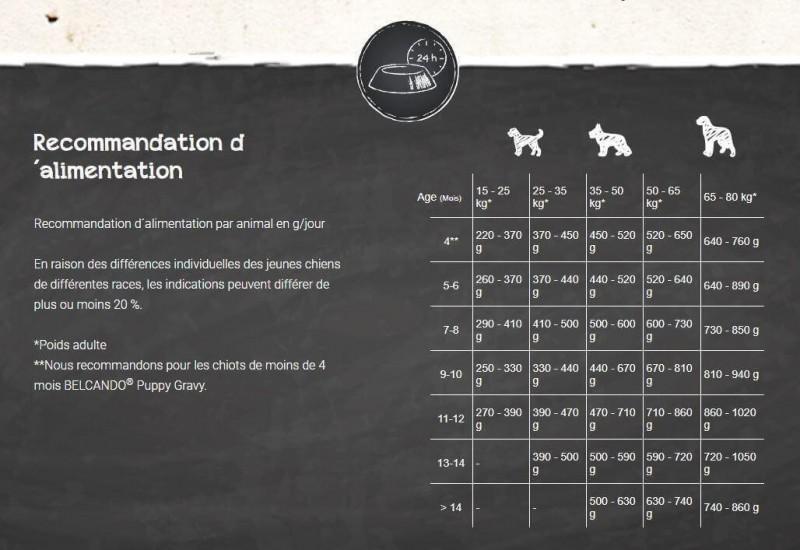 Belcando Junior Maxi pour jeunes chiens de grandes races