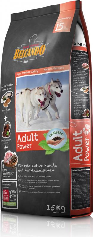 Belcando Adulte Power pour chiens actifs et chiennes en gestation ou lactation