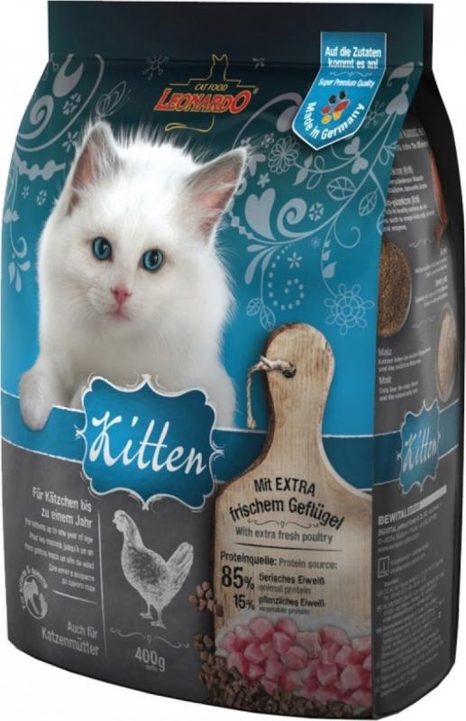 Leonardo Kitten au poulet pour chaton