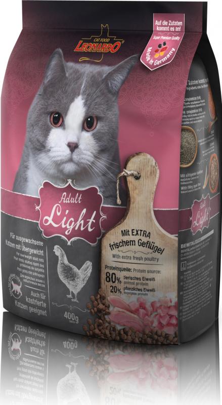 Leonardo Adult Light pour chat adulte en surpoids