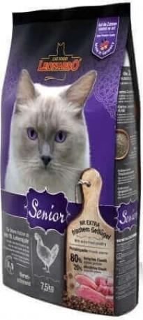 Leonardo Senior à la volaille pour chat de plus de 10 ans