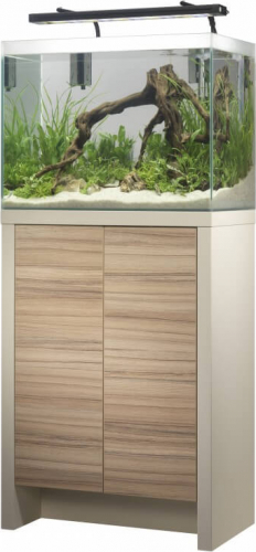 Kit Fresh F-60 - Aquarium 85L d'eau douce équipé + meuble _0