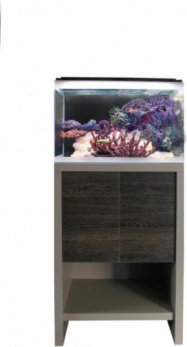 Kit Reef M 60 Aquarium 91L eau de mer équipé meuble