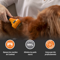 FURminator Long Hair Dog DeShedding Tool