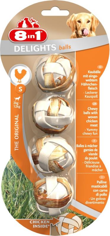 Balles à mâcher 8in1 Delights Balles - 2 tailles