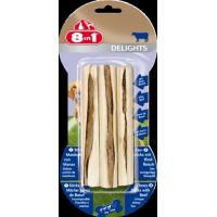 3 Sticks à mâcher au boeuf - 8in1 Delights Beef Sticks