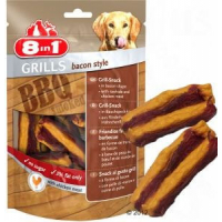 Friandises croustillantes goût bacon - 8in1 Grills Bacon Style