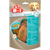 Friandises 8in1 Fillets Pro Breath