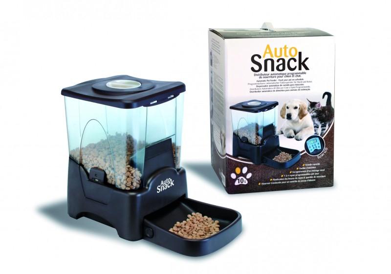 Distributeur croquette pour chat for Alimentation automatique aquarium
