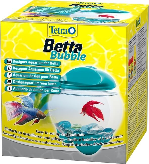 Tetra betta bubble white aquarium tanks and cabinets for Bubbles in betta fish tank