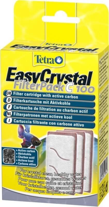 Recambio para filtro de acuario EasyCrystal FilterPack C 100 para Cascada Globe