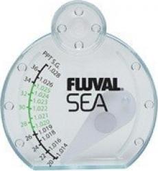 Hydromètre - pour mesurer la densité relative et le taux de salinité des aquariums d'EAU DE MER