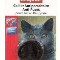 Collar antiparásitos, antipulgas y garrapatas para Gato con Dimpylate