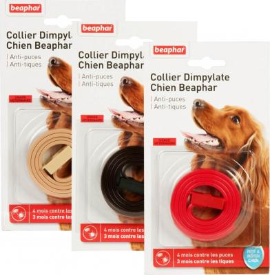 Collar antiparasitario antipulgas y garrapatas Perros pequeños y medianos con Dimplylate