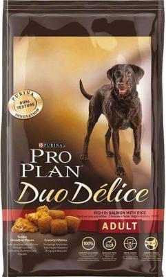 PRO PLAN DOG Duo Délice Adult mit Lachs und Reis - 10kg