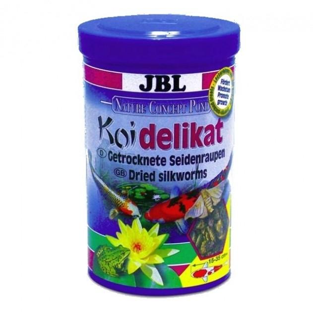 Vers soie pour carpe ko delikat 1l aliments poisson for Carpe koi croissance