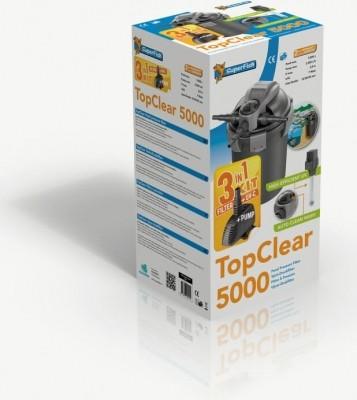 Kit Top Clear, Filtre + UV + Pompe