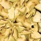 Golosinas Chips de manzana para conejos