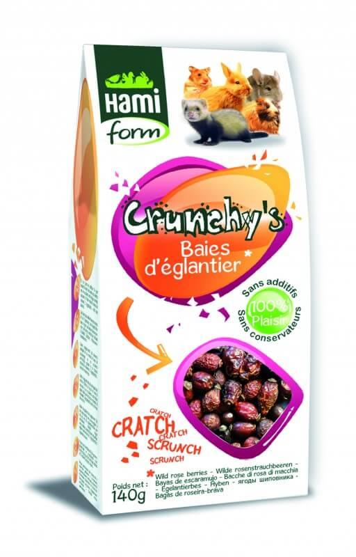 Friandises Boutons de rose pour chinchilla CRUNCHY'S_2