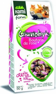 Friandises Boutons de rose pour chinchilla CRUNCHY'S