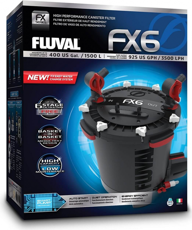 Filtre externe FX6 Fluval jusqu'à 1500 L