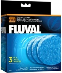Mousse fine Fluval pour filtre FX5 et FX6 Fluval, paquet de 3