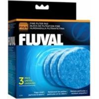 Blocs de filtration fine Fluval pour filtre FX5 et FX6 Fluval, paquet de 3