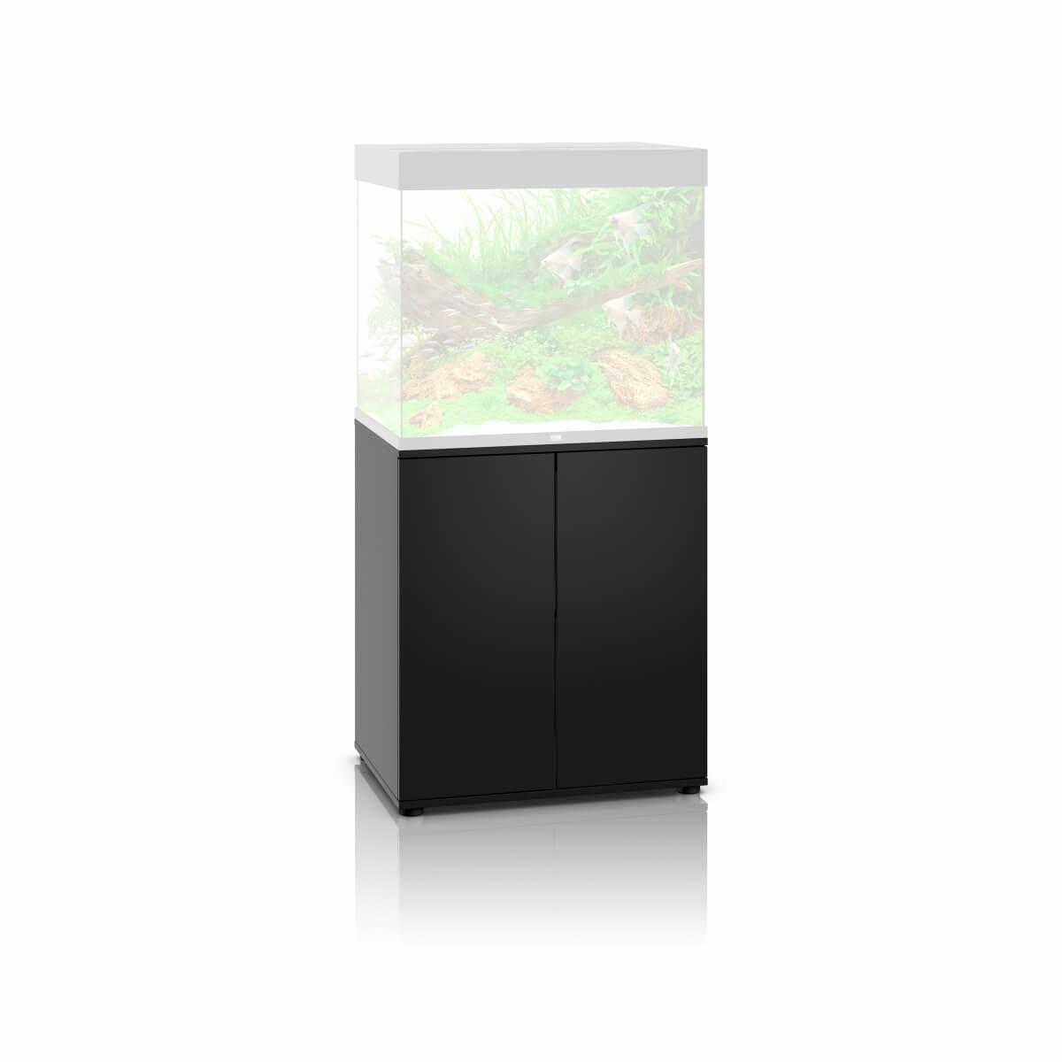 Juwel meuble sbx pour aquarium lido 200 noir aquarium et for Meuble aquarium